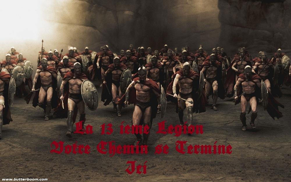 la 13 ieme legion  Index du Forum