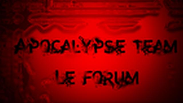 apocalypse* Index du Forum
