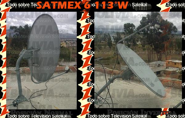 Satmex 6 Invertido